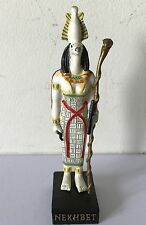NEKHBET Gods of Ancient Egypt Resin Figurine Ornament & Original Packaging