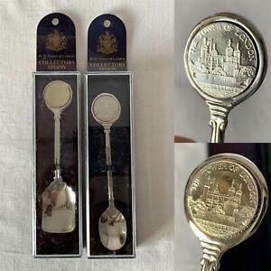 Vintage Silver Tea Spoon Vintage Wedding Gift 145 Irish Silver plated /& Enamel Spoon Dunlaoghaire  Souvenir Collectors spoon