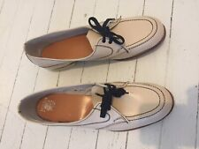 Amazing Vintage 60s 70s Leather Loafers Golf Shoes