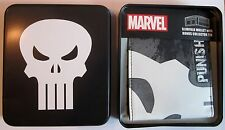 Punisher Frank Castle Slimfold Wallet Collector Tin Marvel Comics NEW 0005