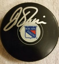 New York Rangers Assistant Coach David Oliver Signed/Autographed Puck