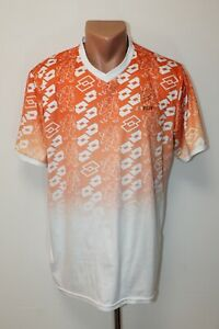 Netherlands Holland Training Football Shirt Jersey Camiseta Soccer Lotto Size M