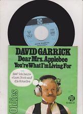 "7 "" Single David Garrick  - Dear Mrs Applebee  -  Oldies Serie"
