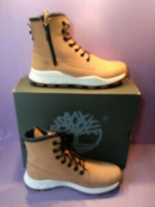 Timberland Brooklyn Boot Wheat Men's Zip Side A2JE