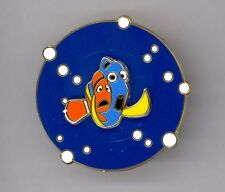 Disney Studios Opening Day Pixar Finding Nemo Marlin & Dory Spin Cast Pin Rare