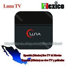 LUNA TV BOX SPANISH Español 4K SAME AS HTV5 A2 MEXCIO LIVE TV ADULT18+   US FAST