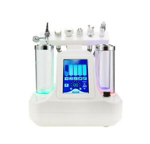 6 in 1 Hydra Oxygen Water Jet Facial Hydro Peel Skin Rejuvenation Beauty Machine