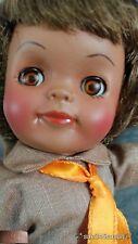 "Vintage Effanbee Doll Girl Scout Brownie 8"" Doll Black African American 1965!!"