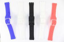 Eichmüller Uhrenarmband Ersatzband 17mm für Swatch Uhren  5 Farben