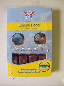 Frozen Fish Food-5 X 100g blister packs-Discus Diet--BCUK
