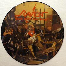 RAVEN Rock Until You Drop LP PICTURE DISC Mint- Uk press NEAT Records  RP 1232