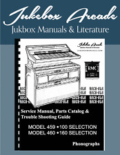 Rock Ola 459-460 Service Manual and Parts Catalog & Trouble Shooting Guide