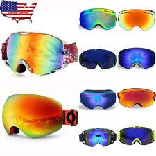 Professional Ski Goggles Winter Snow Anti Fog Dual Lens Uv Protection Women Men