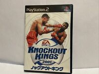 Knockout Kings 2001 (Sony PlayStation 2, 2001) Japan Import PS2: US SELLER