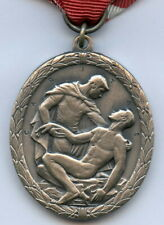 Sweden For Merit Red Cross Medal Nice Grade  !!!