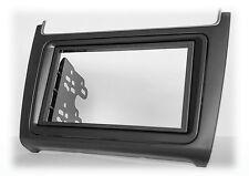 CARAV 11-538 Autoradio Radioblende Rahmen für VW Polo V 6C 2014+ in schwarz