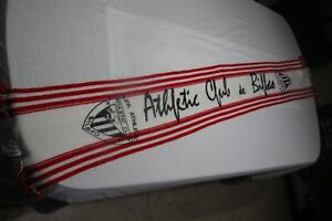 Scarf Of Football of The Kit Athletic Of Bilbao Silk Screen Panel Vintage Scarf