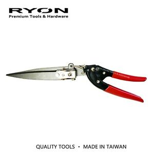 Grass Lawn Shears Pruning Tool ROTATABLE Blades Heavy Duty Gardening Pruning