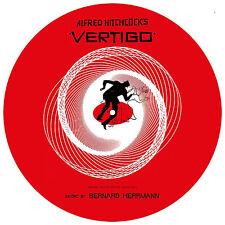 ALFRED HITCHCOCK VERTIGO FILM SOUNDTRACK PICTURE DISC LP RUSSIA IMPORT HERRMANN