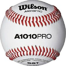 Wilson A1010PRO High School/College NFHS Stamped Game Baseball (1 Dozen)