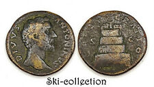 Sesterce ANTONINUS PIUS (Antonin le Pieux 138-161 Ap.J.C.) CONSECRATIO S-C