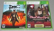 DMC & Devil May Cry HD Collection Bundle Xbox 360 Brand New Sealed!