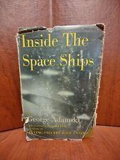 Inside the Space Ships George Adamski Abelard-Schuman 1955 3rd Printing HC w/DJ
