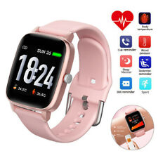 Girls Smart Watch Body Temperature Fitness Activity Tracker Message Reminder