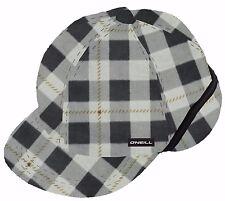 O'Neill GLACIER Mens 100% Polyester Fleece Ear Flap Hat One Sz Charcoal Grey NEW