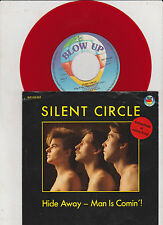 "Silent Circle, Hide Away  -  Man is Comin '!,  7"" Single 0"