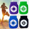 Mini Clip USB MP3 Player Musik Medien Metall Support Micro 32GB SD TF Card