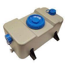 Fresh/serbatoio delle acque reflue 30 litri GRIGIO CONTENITORE CARAVAN CAMPER BARCA CAMPER