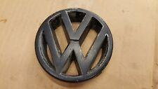 VW GOLF JETTA MK2 FRONT GRILL ROUND VOLKSWAGEN BADGE EMBLEM 191853601H