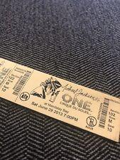 New Michael Jackson One Cirque Du Soleil Ticket Key Chain Ring Las Vegas MJ Show
