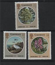 Mint Never Hinged/MNH Nature Guernsey Regional Stamp Issues