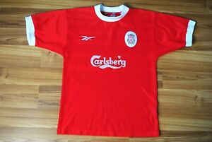 SIZE YOUTH LIVERPOOL HOME FOOTBALL SHIRT 1998-1999-2000 JERSEY VINTAGE REEBOK