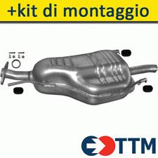 MARMITTA SILENZIATORE CENTRALE OPEL ASTRA G //Coda spiovente 1.4 16V 98/>05 40467