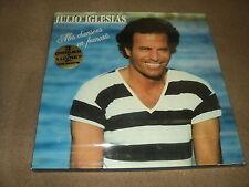 """@ JULIO IGLESIAS COFFRET TRIPLE 33 TOURS LP 12"""" MES CHANSONS EN FRANCAIS"""