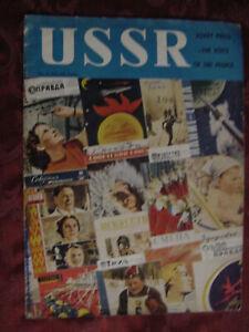 RARE USSR Illustrated Monthly May No. 5 (32) Soviet Press Magazine Embassy