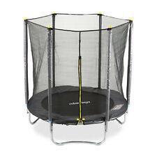 2 tlg. Trampolin Set, Trampolin Outdoor + Sicherheitsnetz Gartentrampolin Netz