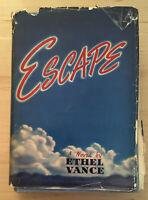 Vintage Hardback Escape Novel by Ethel Vance 1939 Little Brown & Co. Book
