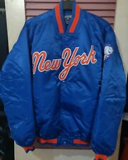 MAJESTIC COOPERSTOWN COLLECTION- NY METS JACKET - SZ XXL-2XL