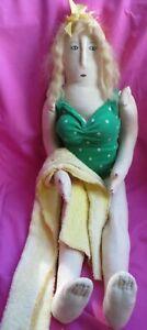 "Sharon Andrews 24"" Bathing Beauty Doll- Beach Decor - Vintage Inspired"