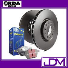 MITSUBISHI PAJERO NS & NT all models - RDA Rear Brake Discs & EBC ULTIMAX Pads