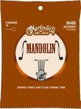 MARTIN MANDOLIN STRINGS 80/20 BRONZE WOUND STANDARD LIGHT .010 - .034 LOOP END