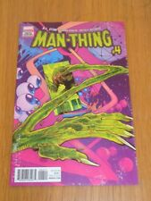MAN THING #4 MARVEL COMICS
