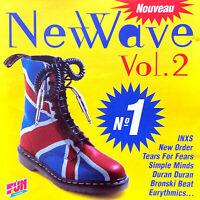Compilation CD N°1 New Wave (Vol. 2) - France (M/VG)