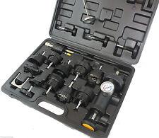 Automotive Radiator Coolant Pressure Leakdown Leak Tester Tool Kit