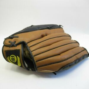 FBI Baseball Glove Left Hand Professional Model 13 Inch Leather Brown [Lot B]