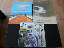 RED HOT CHILLI PEPPERS...3 FRENCH PROMOTIONAL ITEMS CIRCA 2002...POSTER